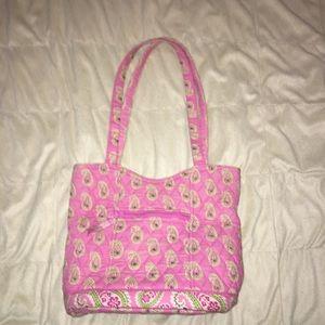 Med size Vera Bradley handbag pink